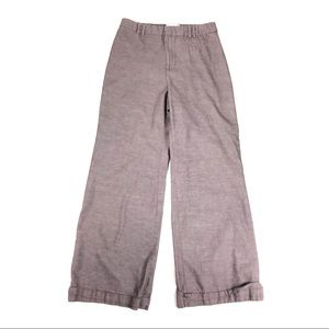 Anthropologie elevenses pants trousers wide leg 12